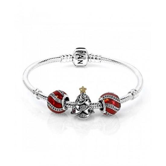 Pandora Bracelet-Festive Tree Complete Jewelry