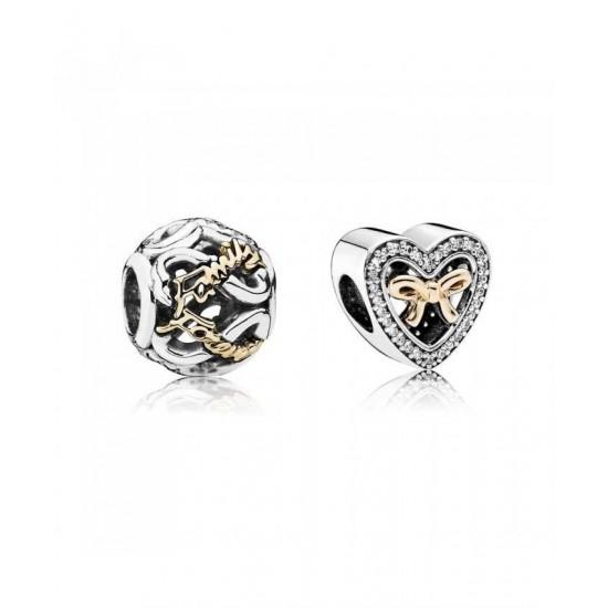 Pandora Charm-Bound By Love Jewelry