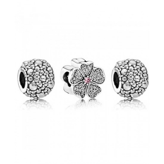Pandora Charm-Sparkling Blossom Jewelry