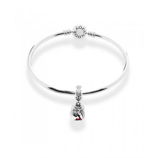 Pandora Bangle-Prancing Reindeer Complete Jewelry
