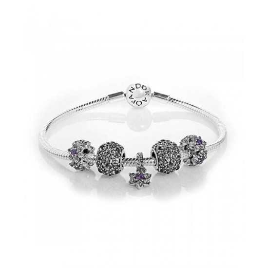 Pandora Bracelet-Forget Me Not Complete Jewelry Online Shop