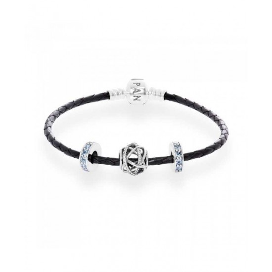 Pandora Bracelet-Sparkling Galaxy Complete Jewelry