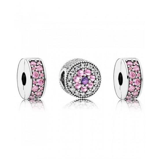 Pandora Charm-Dazzling Floral Jewelry Best Good