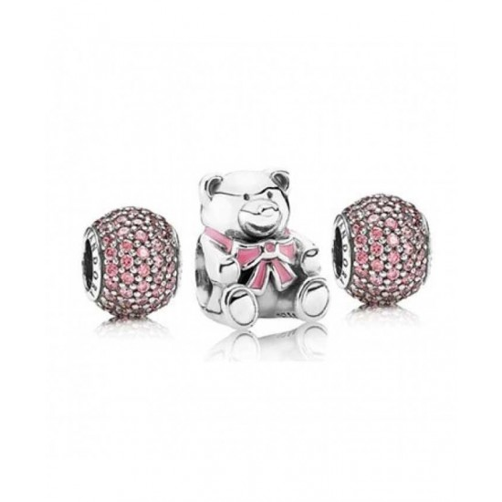 Pandora Charm-Pink For A Girl Jewelry Best Online