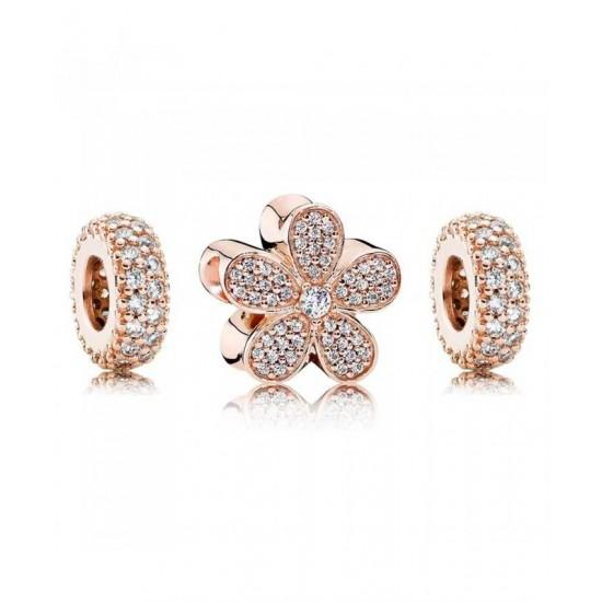 Pandora Charm-Rose Dazzling Daisy Jewelry Best Pirce
