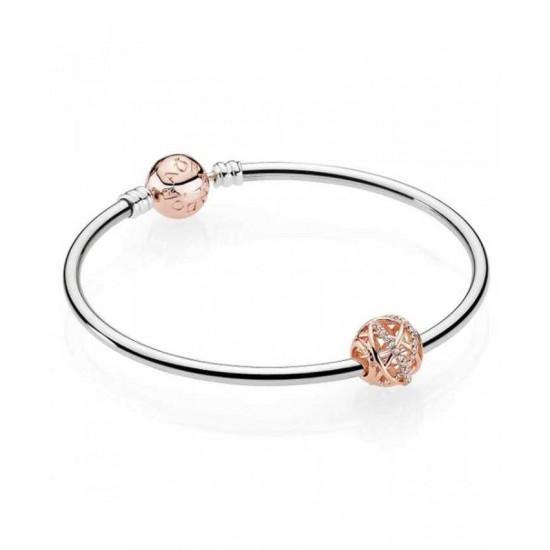 Pandora Bangle-Rose Galaxy Complete Jewelry