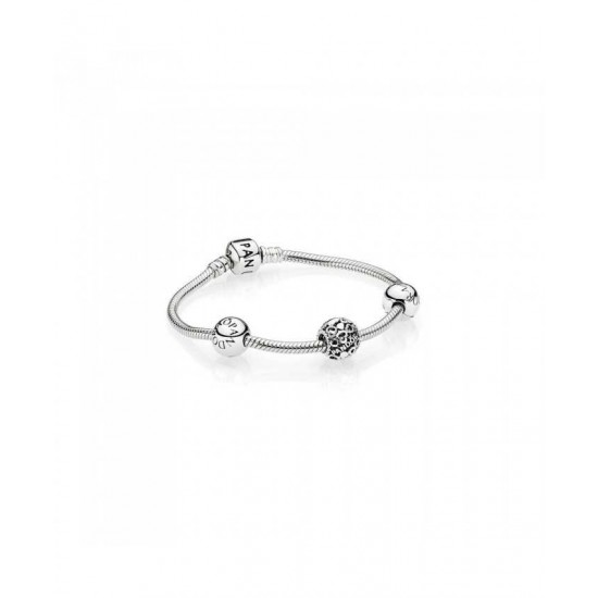 Pandora Bracelet-Heart Logo Script Jewelry