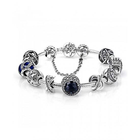 Pandora Bracelet-Starry Skies Complete Jewelry Factory Store