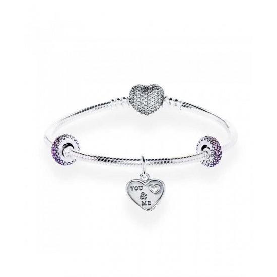 Pandora Bracelet-Tender Love Complete Jewelry