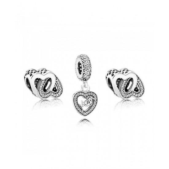 Pandora Charm-Entwined Love Jewelry