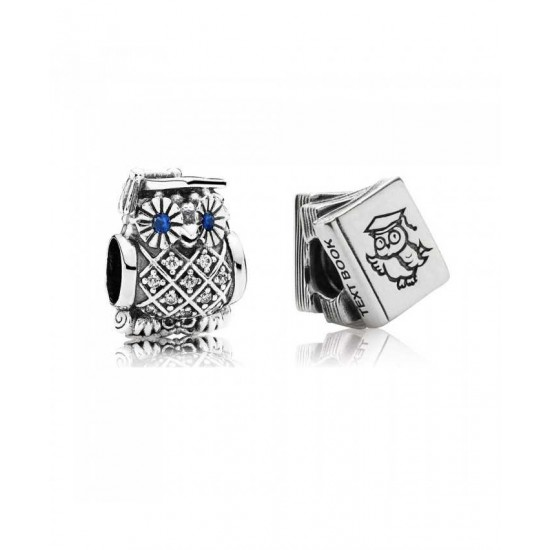 Pandora Charm-Owl Of Wisdom Jewelry