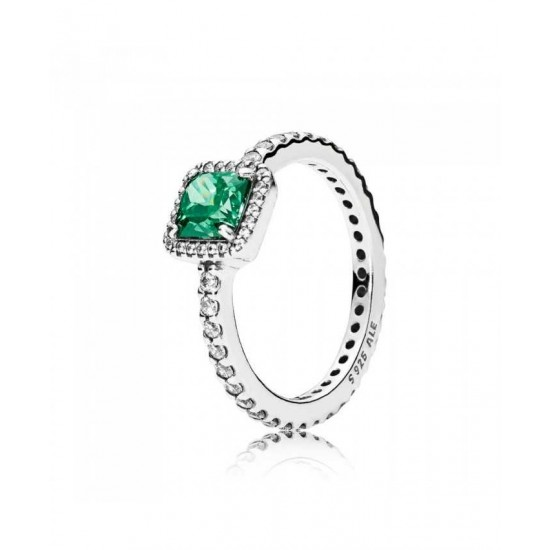 Pandora Ring-Green Timeless Elegance Jewelry Factory Online