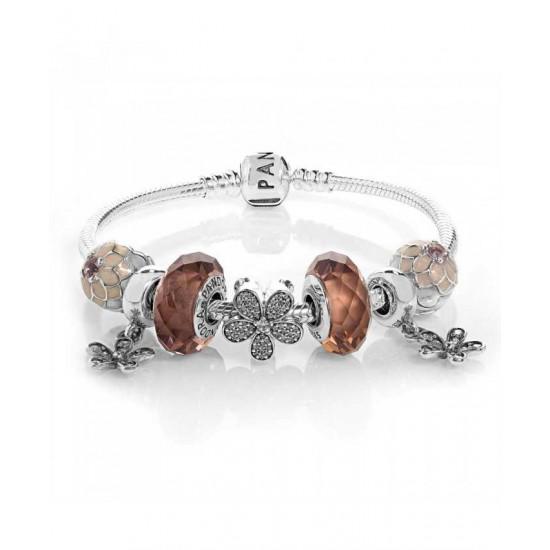 Pandora Bracelet-Poetic Blooms Complete Jewelry
