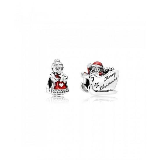Pandora Charm-Mr And Mrs Claus Jewelry
