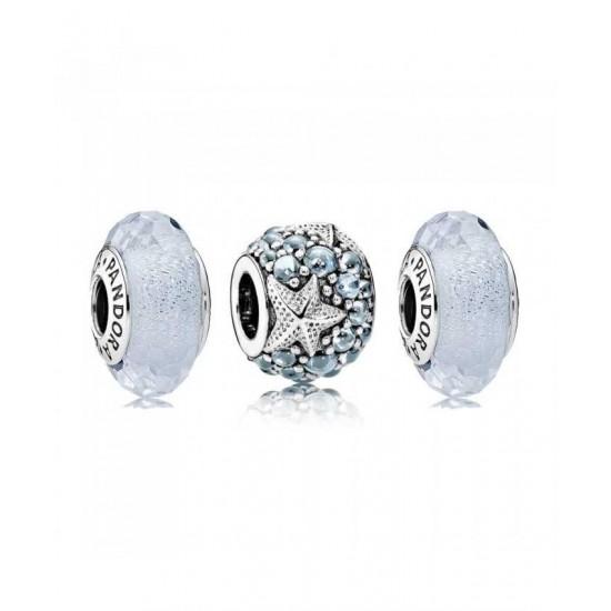 Pandora Charm-Oceanic Starfish Jewelry