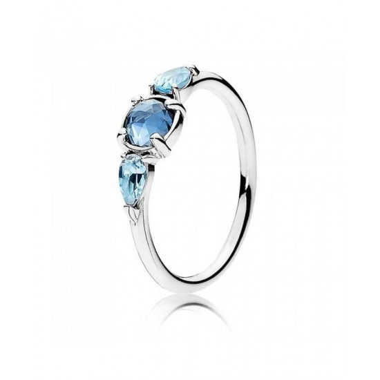 Pandora Ring-Patterns Of Frost Ice Drops Jewelry