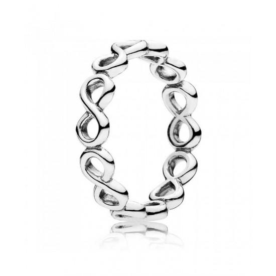 Discount Pandora Ring-Silver Infinite Shine Jewelry