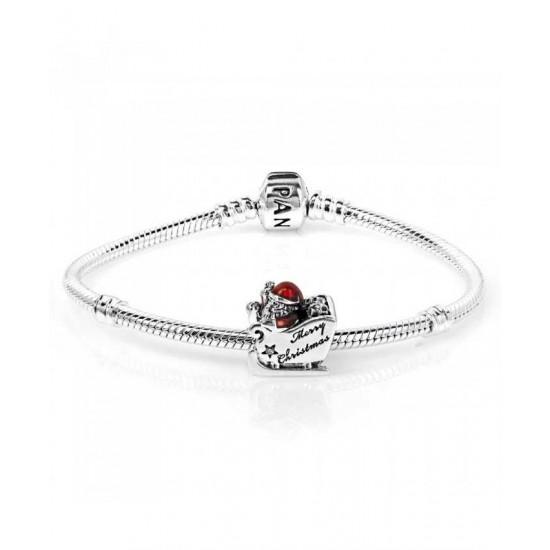 Pandora Bracelet-Sleighing Santa Complete Jewelry