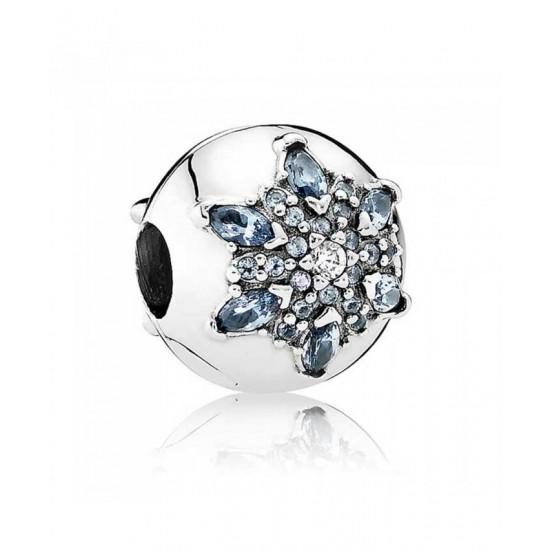 Pandora Charm-Crystallised Snowflake Jewelry