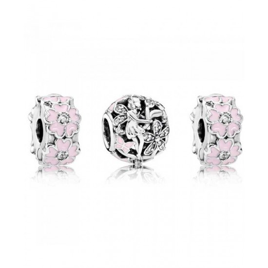 Pandora Charm-Floral Fairy Jewelry