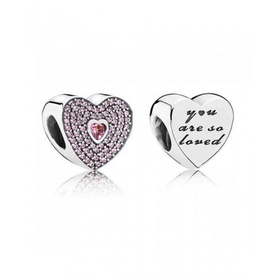 Pandora Charm-So Loved Jewelry Cheap Genuine