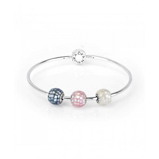 Pandora Bangle-Essence Mosaic Jewelry