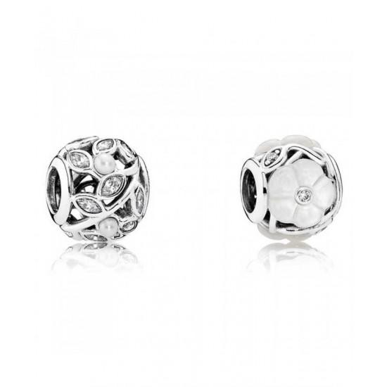 Pandora Charm-Luminous Floral Jewelry