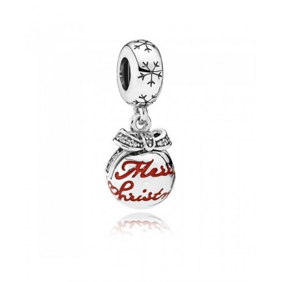 Pandora Charm-Merry Christmas Bauble Jewelry