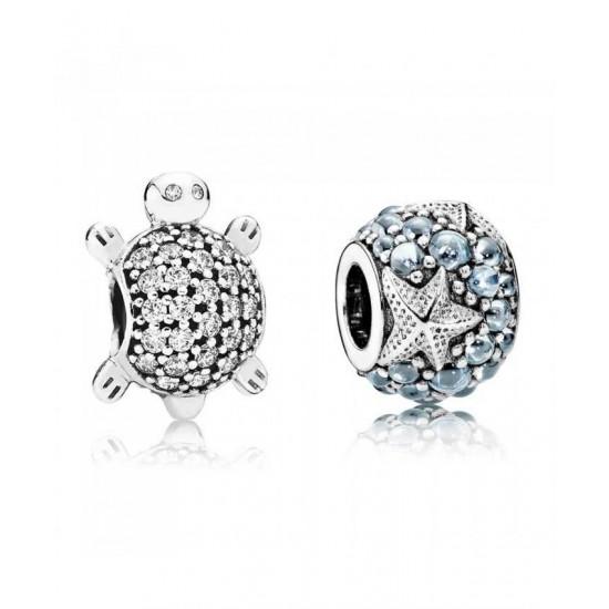 Pandora Charm-Oceanic Turtle Jewelry