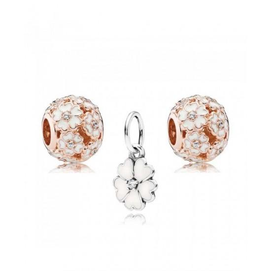Pandora Charm-Rose Primrose Jewelry