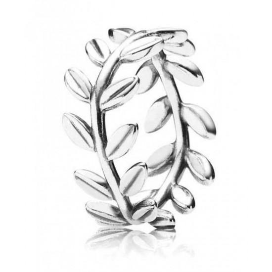 Pandora Ring-Leaves Band Jewelry