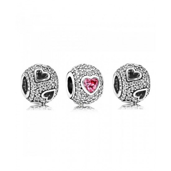 Pandora Charm-Captivated By Love Jewelry Cheapest Online Price