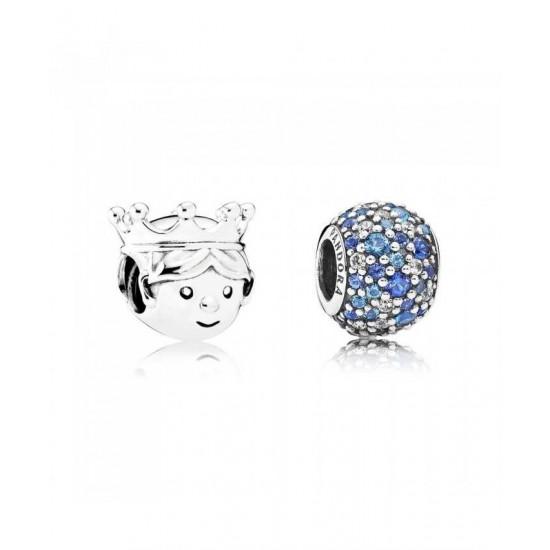 Pandora Charm-Pave Prince Jewelry