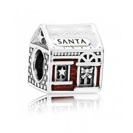 Pandora Charm-Santa S Grotto Jewelry