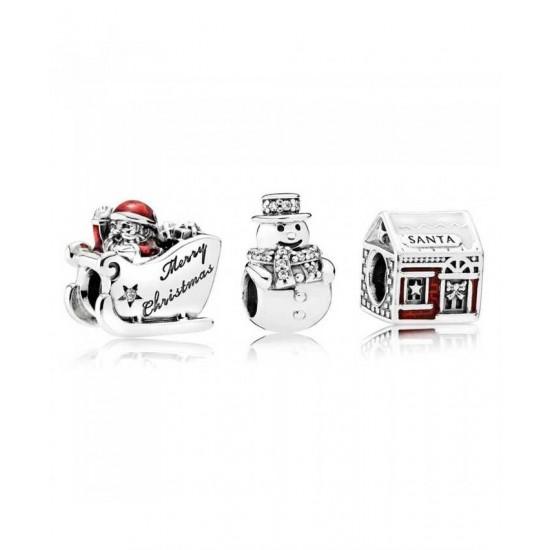 Pandora Charm-Santas Grotto Jewelry