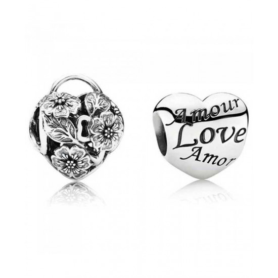 Pandora Charm-Love Locket Jewelry Discount Shop