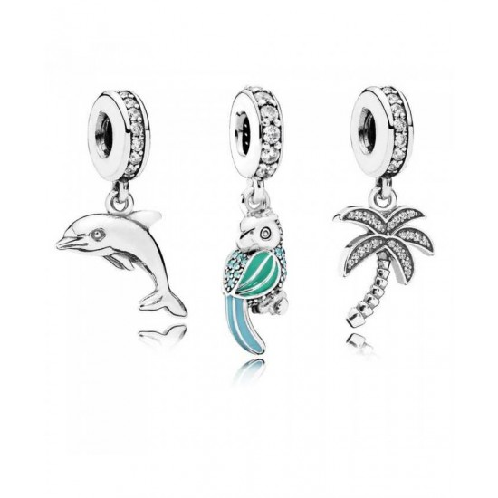 Pandora Charm-Oceanic Paradise Jewelry