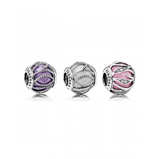 Pandora Charm-Radiant Lines Jewelry