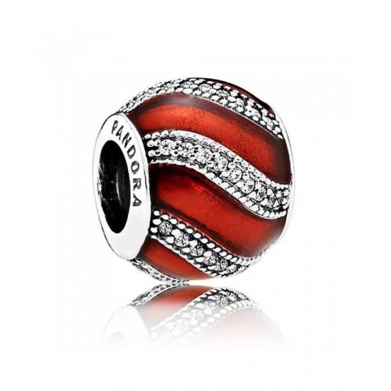 Pandora Charm-Red Adornment Jewelry