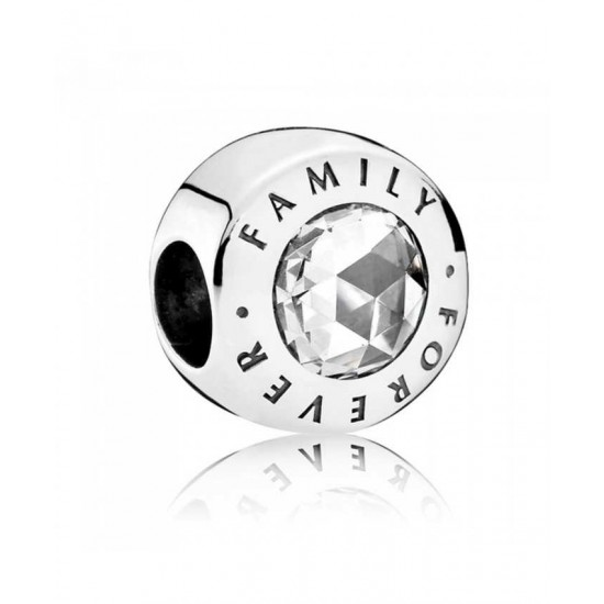 Pandora Charm-Silver Forever Family Jewelry Discount Sale