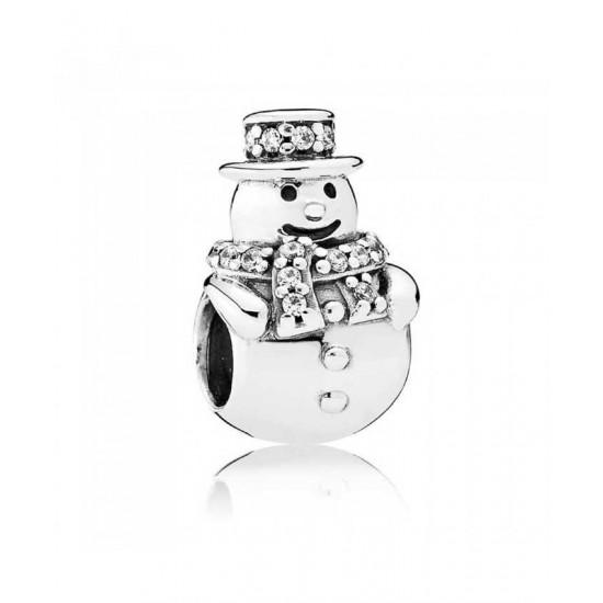Pandora Charm-Snowman Jewelry