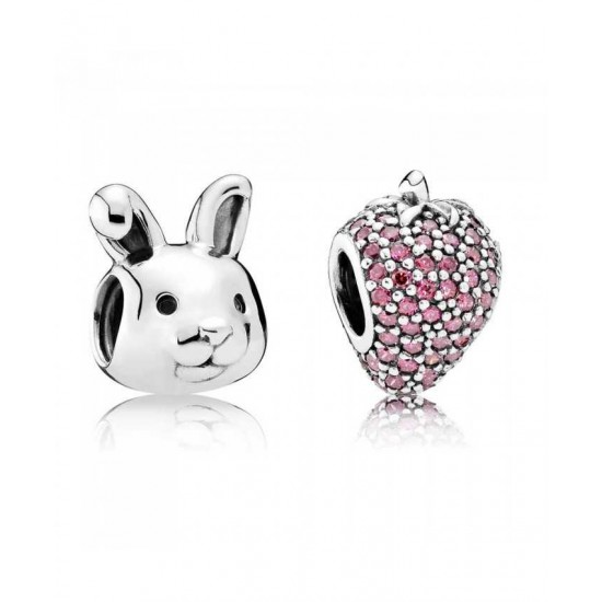 Pandora Charm-Summer Rabbit Jewelry