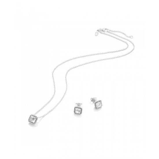 Pandora Set-Sparkling Elegance Gift Jewelry