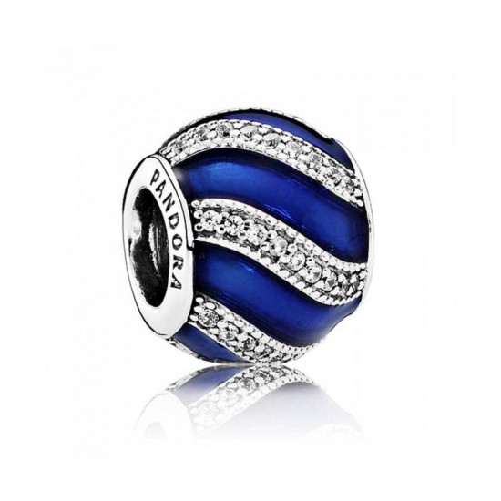 Pandora Charm-Blue Adornment Jewelry
