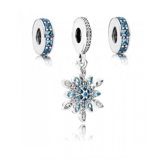 Pandora Charm-Crystallised Sky Jewelry
