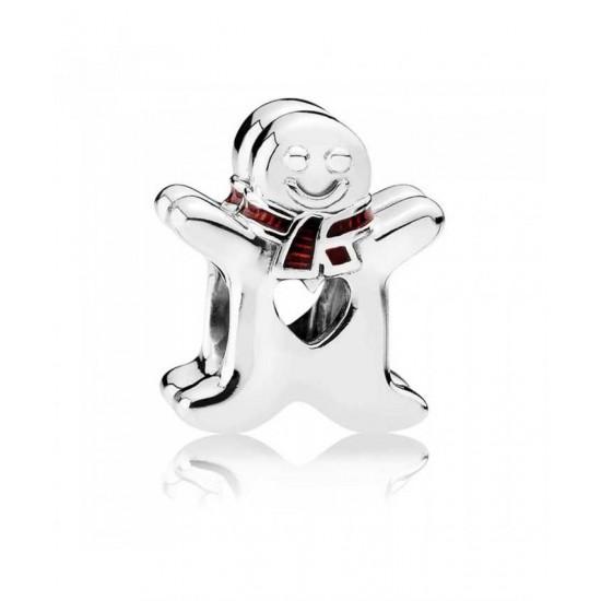 Pandora Charm-Gingerbread Man Jewelry