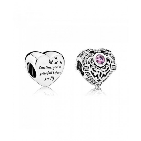 Pandora Charm-Hearts Of Freedom Jewelry
