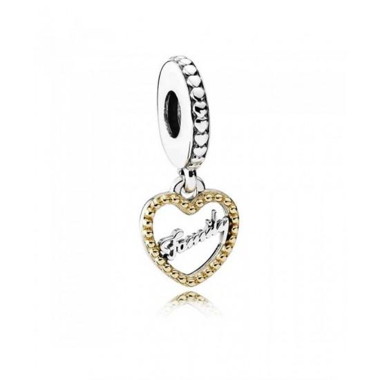 Pandora Charm-Silver 14ct Gold Loving Family Jewelry