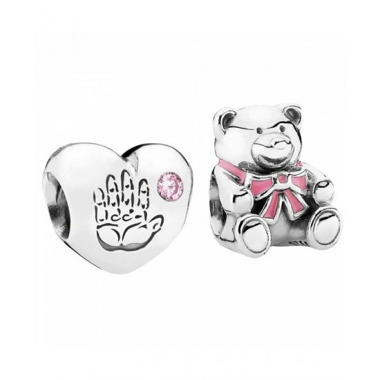 Pandora Charm-Silver Baby Girl Jewelry Factory Online