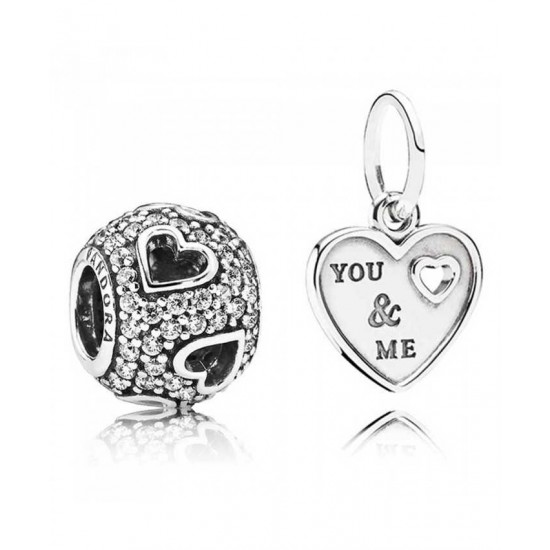 Pandora Charm-You And Me Jewelry Factory Outlet